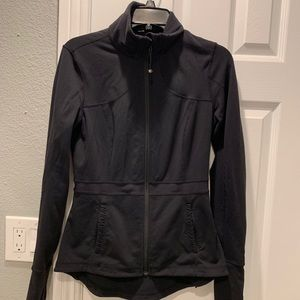 lululemon athletica Jackets & Coats - Lululemon Very Rare Peplum Jacket in black